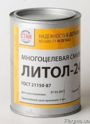 Литол-24 (21 кг;180 кг).