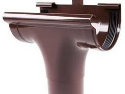 Ливнеприёмник проходной коричневый 90 мм, Profil 107 K