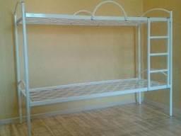 Ліжко двоярусне з металевими спинками 1900*700