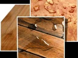 Лляна олія з воском для деревини, зрубів, будинків