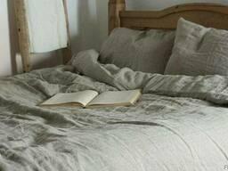 Льняное постельное бельё