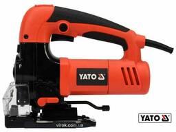 Лобзик мережевий YATO 600 Вт 500-2500 об/хв 10/130 мм