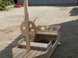 Корабль-песочница для детской площадки - фото 2