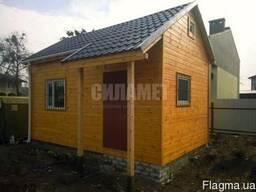 Лофт домик деревянный, дачные дома, каркасно-щитовой дом