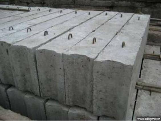 Фундаментный блок ФБС 9.6.6Т В15