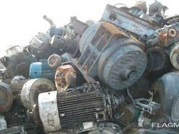 Лом электродвигатели бу дорого , в любом состоянии