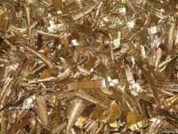 Лом и отходы латуни и бронзы, а также стружка, неликвиды.