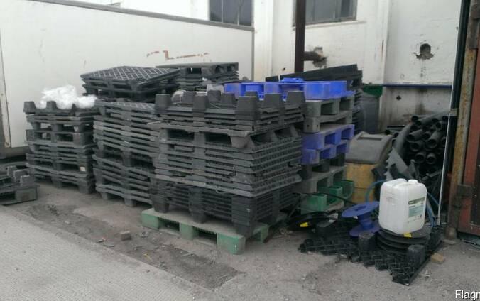 Лом пластиковых поддонов 1200*800