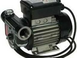 Лопастной насос для перекачки диз. топлива 220в 40-100л/мин