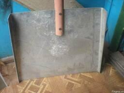 Лопата для снега дюралевые с держаком