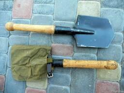 Лопата МПЛ (сапёрная) с чехлом