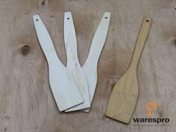 Лопатка деревянная для кухни (Липа, Яблоня)