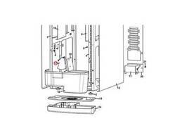 Лопатка для сдвигания отходов (пластик), 0010024164