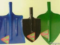 Лопати: вугільна ЛУ-1, породна ЛПР, копальна ЛКО, пісочна