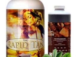 Лосьон для моментального загара «rapid tan» уникальная формула для быстрого приобретения ц