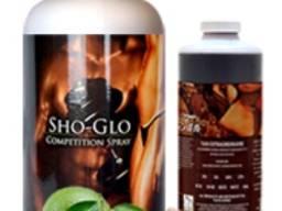 Лосьон для моментального загара «sho-glo competition» супер-темный тройной dha с wow-facto