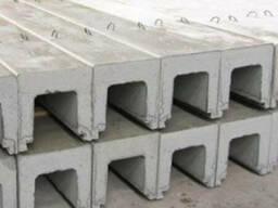 Лотки инженерных сетей железобетонные , водоотводные