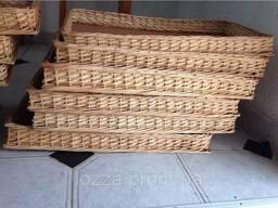 Лотки плетеные 60x40х5 для магазина