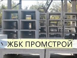 Лоток теплотрассы Л 18-8/2(2970*1840*1640) лоток жб