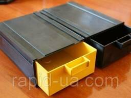 Лоток модульный, органайзер, пластиковая тара, кассетница