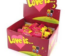 Love is, жвачки, вишня-лимон