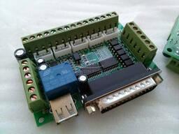LPT интерфейсная плата - 5 осей Mach3