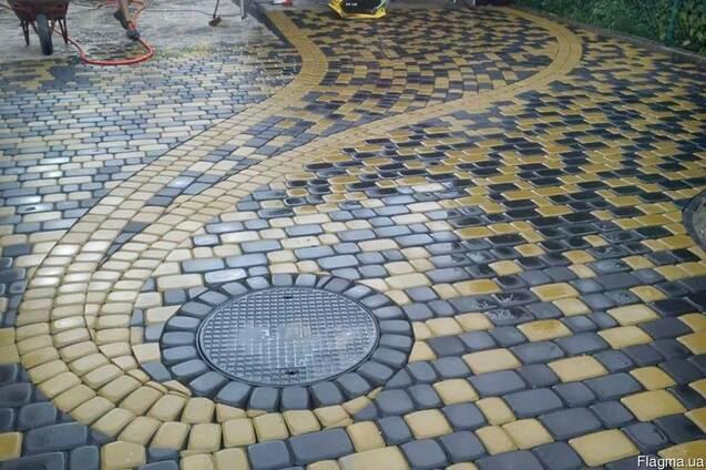 Лучшее предложение по укладке тротуарной плитке в Одессе