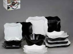 Lum.Authentic Black&White. Сервиз столовый -19пр