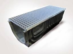 Комплект: ЛВ 30.38.39,6 лоток пластиковый усиленный с решеткой стальной , класс А