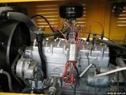 Львовский погрузчик. Карбюраторный двигатель ГАЗ-52.
