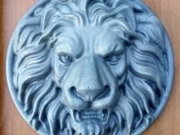 ЛЕВ (стальное литье). Декор на кованые ворота и заборы