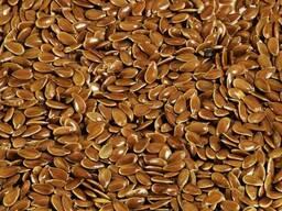 Лён очищенный (семена льна)