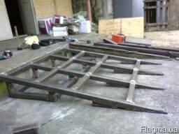 Сварочные работы сварщик ремонт дверей гаража ворот
