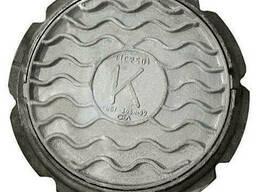 Люк чугунный «Дачный» (40 кг) (Ø кр. 605;осн. 705, h-70)