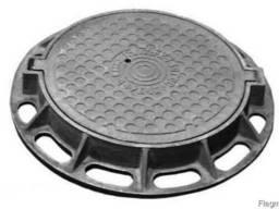 Люк канализационный тип С (B125) (ДСТУ Б В. 2. 5-26:2005, ГОСТ