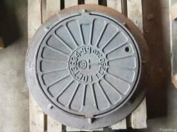 Люк канализационный чугунный тяжелый тип «Т» (108 кг) 25т