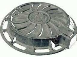 Люк канализационный легкий тип Л (ЛА-15)ГОСТ 3634-99