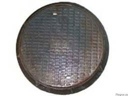 Люк канализационный средний тип С-Б купить цена недорого