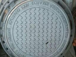 Люк канализационный тип Л (1,5 тн. )