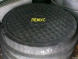 Люк полимерпесчаный 4,5т черный в Днепропетровске