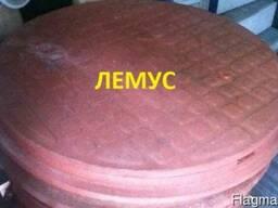 Люк полимерпесчаный садовый терракотовый в Днепропетровске