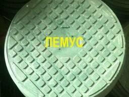 Люк полимерпесчаный зеленый в Днепропетровске