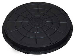 Люк садовый пластмассовый легкий (черный), купить, цена