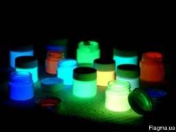 Люминесцентная краска, светящаяся в темноте, люминофор