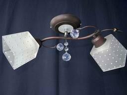 Люстра на 2 лампочки P3 - 37275в-2C (COWT)