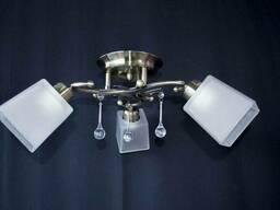 Люстра на 3 лампочки P3 - 37395-3c (ABWT)