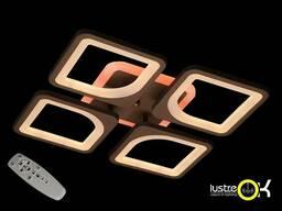 Люстра светодиодная потолочная S8060/4CF LED 3color dimmer