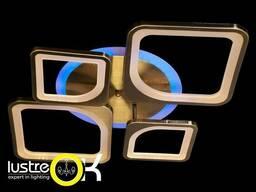 Люстра светодиодная с пультом и подсветкой MX2281/2+2BR. ..