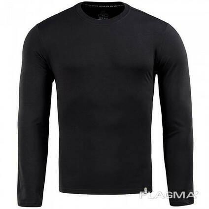 M-Tac футболка длинный рукав 93/7 черная