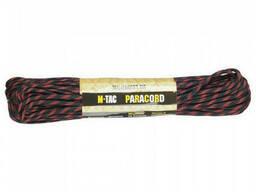 M-Tac паракорд 550 type III Thin Red Line 30м